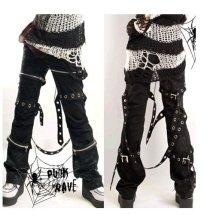 my kera punk rave japanese bondage pants