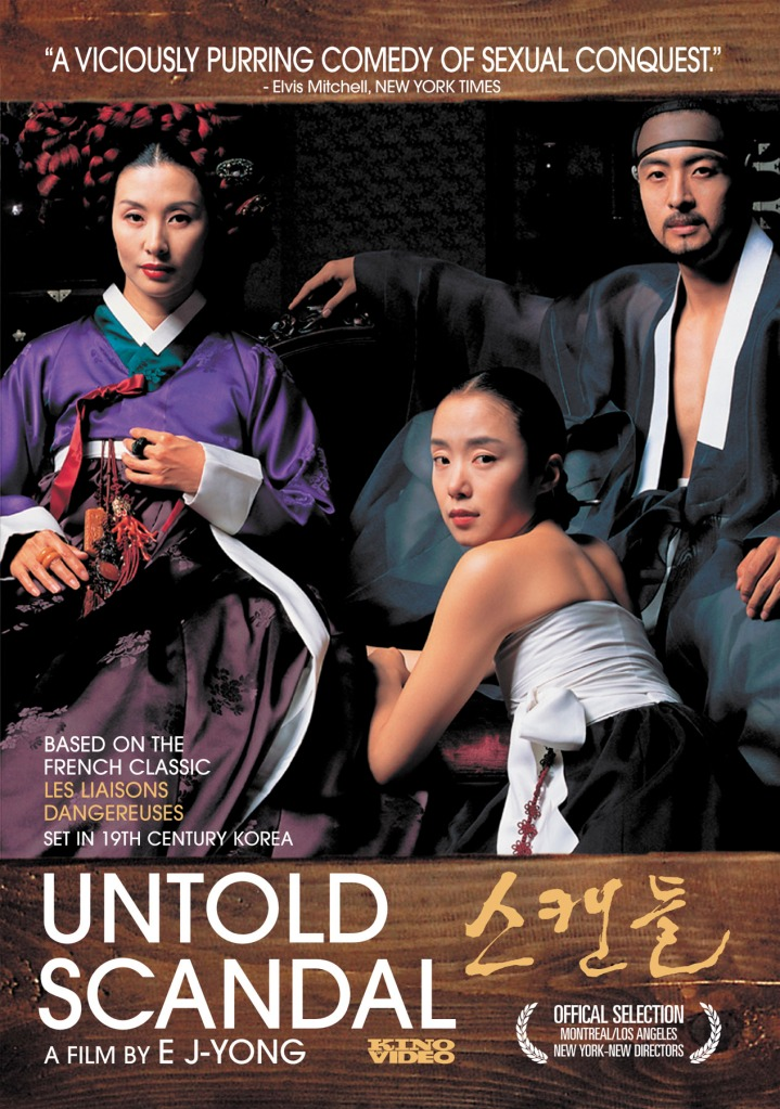 Untold Scandal Korean Movie Review