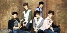 history kpop group