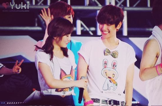Baekhyun and taeyeon dating news