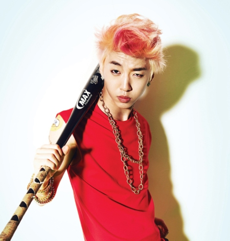 bang yong guk red and blonde